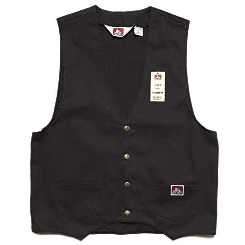 Ben Davis Mc Cotton Work Vest Black -