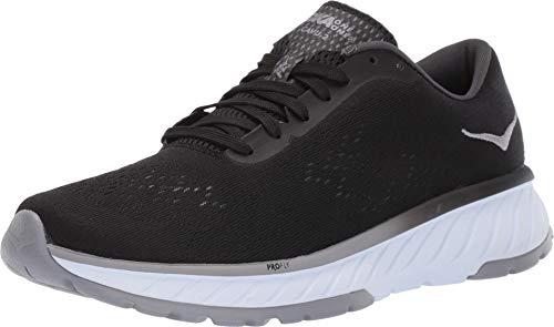 HOKA ONE ONE Womens Cavu 2 Black/White Running Shoe - 6