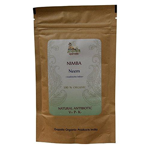 NIMBA -Neem- (Azadirachta indica) BIO en poudre (100 g) - Plante Ayurvédique Traditionnelle antibiotique naturel