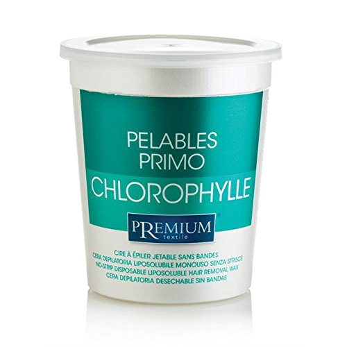 Premium Chlorophyll Heißwachs, Intime und Achseln. Benutzung Ohne Vliesstreifen. Mikrowelle geeignet, 700ml