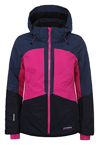 Ice Peak Kate Damen Skijacke L Cranberry