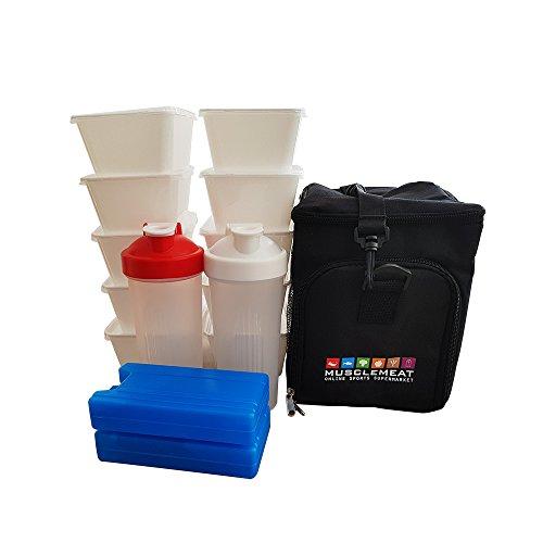 Meal Prep Bag (Incluye 10x Meal Prep Depósito,...