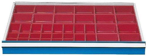 Schubladeneinsatz Serie 1000 Kleinteilekästen Schubladenschränke Schubladeneinsätze