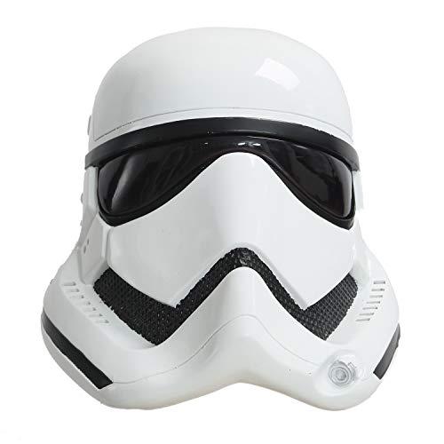 Pandacos Imperial Stormtrooper Maske Stormtrooper Cosplay Helm aus Harz Deluxe-Version Halloween Maske für Erwachene Einheitsgröße