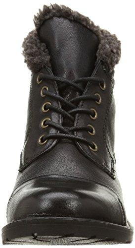 Clarks Hayride Elm, Boots femme Noir (Black Leather)