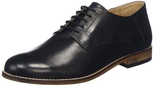 Hudson Aero, Derby Homme Noir (Black)