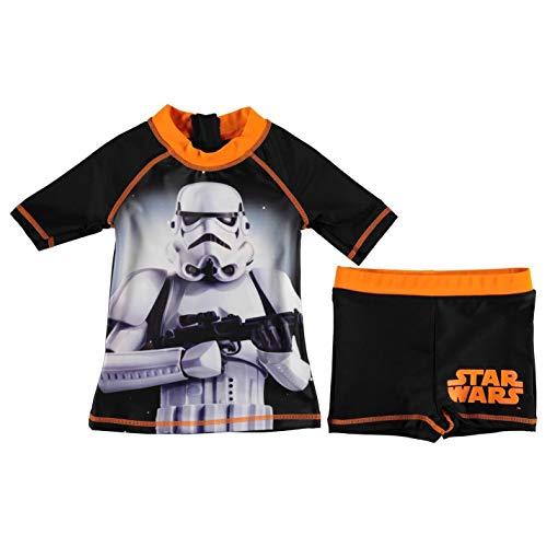 immset Kleinkinder Junior Jungen Bademode Baden Kostüm Tenue De Plage - Schwarz - Star Wars, 104 ()
