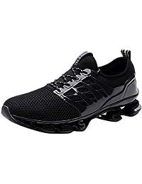 Zapatos de Malla Transpirable de Malla para Correr Zapatillas de Deporte Salvajes al Aire Libre