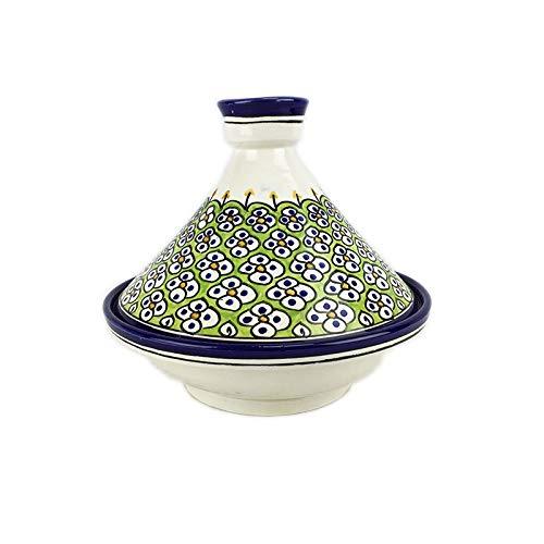 Tajine Tagine marocain en céramique peinte à la main de Fed