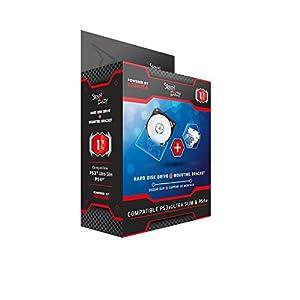 Steelplay EISDDRET005 Bundle Hard Drive 1TB mit Support für Ps3 Slim
