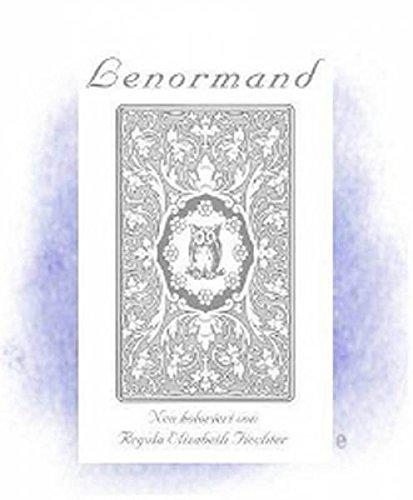 Lenormandkarten - Jugendstil Tarotkarten weiße Eule