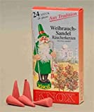 Räucherkerzen Weihrauch-Sande 24 St. / Pkg.