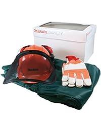 Makita 988.001.611 - Gran equipo de seguridad / hobie motosierra - verde
