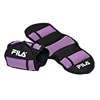 FILA Accessories Adjustable Ankle Weights, 5 lb