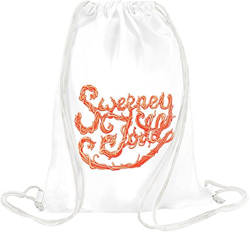 Sweeney Todd red poster Drawstring bag Toby Tee