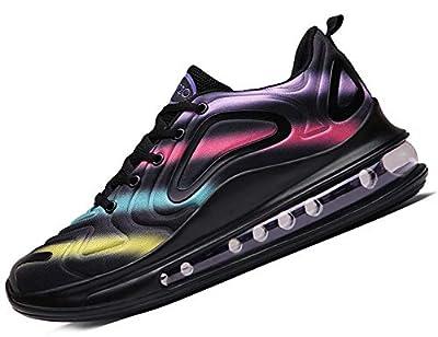 SINOES Max 720 Unisex Erwachsene Straßenlaufschuhe Sportschuhe Bequem Ultra-Light Laufschuhe Schnürer Turnschuhe Sneakers Modisch Luftkissenschuhe Joggingschuhe Mesh Sport Freizeitschuhe