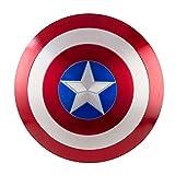 EP-Toy Captain America's Shield, fabriqué en métal échelle 1/1, modèle de Guerre Marvel Infinity, fabriqué en métal échelle 1/1 pour Enfants et Fans,Painted