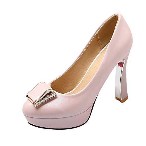 302aa304f223e Mee Shoes Damen modern süß Geschlossen speziell Heel ...