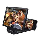 Jintes 3D ingrandire Lo Schermo del Telefono Cellulare Magnifier Stand per E -Telefoni Cellulari Supporti