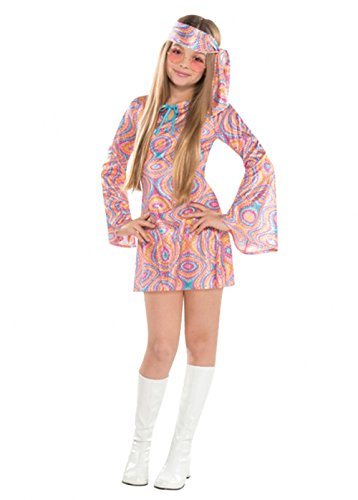 Magic Box Filles des années 70 Paillettes Diva Disco Costume Teen (14-16 Years)