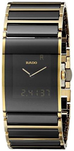 Rado-Mens-Integral-Two-Tone-Ceramic-Band-Case-Sapphire-Crystal-Quartz-Black-Dial-Watch-R20799152