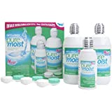 Alcon «Opti-Free Pure Moist» - Pack de 3 solutions désinfectantes (2x 300 ml et 1 x 90 ml)