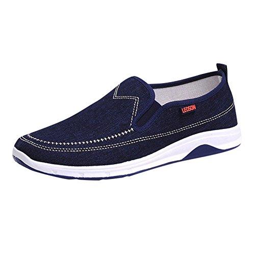 Schuhe, Resplend Männer Jungen Casual Sneakers Sport Denim Turnschuhe Sportschuhe Atmungsaktiver Slip On Sneaker