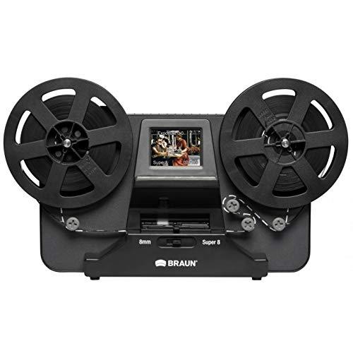 Braun Germany NovoScan Super 8 - Normal 8 Filmscanner 1440 x 1080 Pixel Super 8 Rollfilme, Normal 8