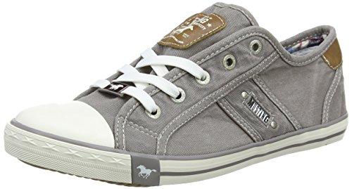 MUSTANG Damen 1099-302-932 Sneaker, Grau (Silbergrau 932), 39 EU