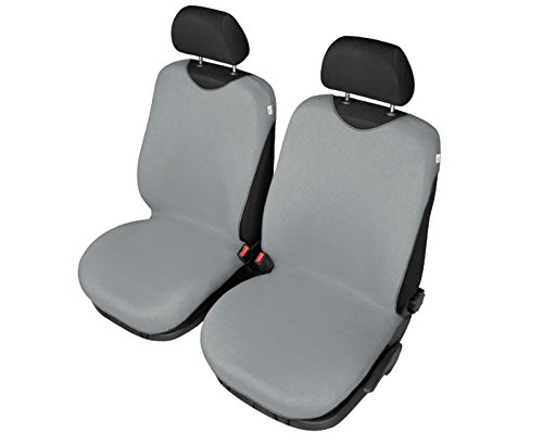 Grau Baumwolle Autositzbezug Sitzbezug Sitzbezüge Schonbezüge, Universal