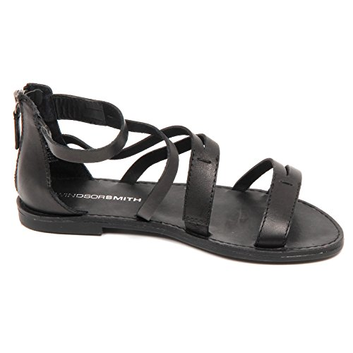 Windsor Smith D5364 (WITHOUT BOX) sandalo donna shoe woman Nero