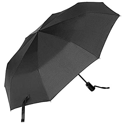 CMYK Auto Open & Close--Windproof Canopy Compact Folding Umbrella for Easy Carrying