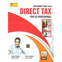 DIRECT TAX FOR CS PROFESSIONAL AY 2019-20