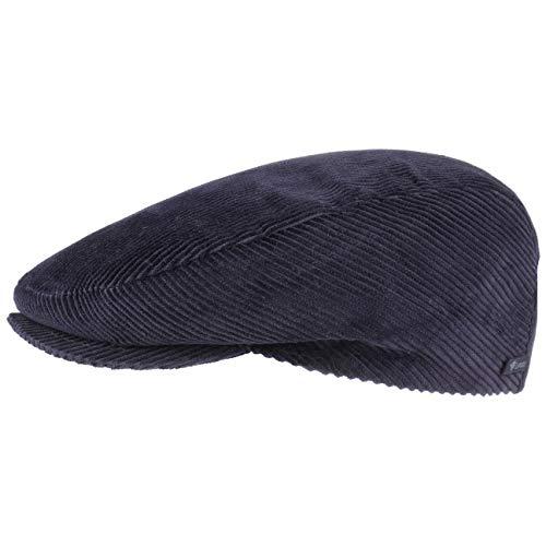 Lipodo Cord Flatcap blau Herren/Damen | Schirmmütze aus Baumwolle | Schiebermütze...