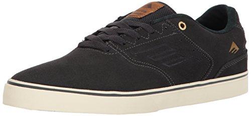 Emerica The Reynolds Low Vulc Herren Skateboardschuhe Dark Grey