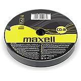 Maxell CD-R 700MB 10 - pk CD-R 700MB 10pieza(s) - CD-RW vírgenes (CD-R, 700 MB, 10 pieza(s), 52x, 120 mm, Policarbonato)