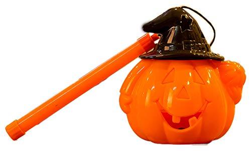 Black Temptation Halloween Portable Pumpkin Candy Dosen Eimer Leistung Jack Lantern