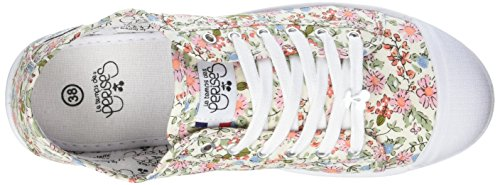 Le Temps des Cerises - Basic 02, Basse Donna Multicolore (Flower)