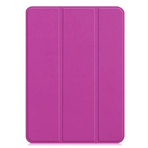 Steellwingsf Tablettenschutzabdeckung, STO?Feste magnetische 3 Falten Stand-Schutzh¨¹llen f¨¹r Apfel-iPad pro 12.9-lila-Tablet-Zubeh?r (Lila Deckung Ipad)