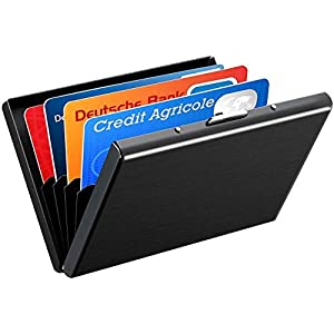 ATMOKO Kreditkartenetui 6 Kartenetui RFID