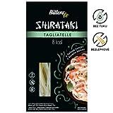 BITTER Shirataki PASTA - tagliatelle, 4 x 390 grammi, shirataki konjac, senza glutine, 4 pack