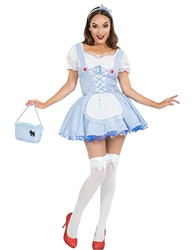 othy Partei Märchenbuch Woche Verkleidung Kostüm Small (Oz Dorothy Kostüm)