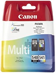 Canon CL-541/PG-540 Original Tintenpatronen (Multipack 2 x 8ml) mehrfarbig/schwarz