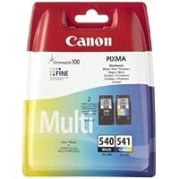 Canon - PG-540 & CL-541 - Cartouches d'Encre d'Origine - Noir & Couleur