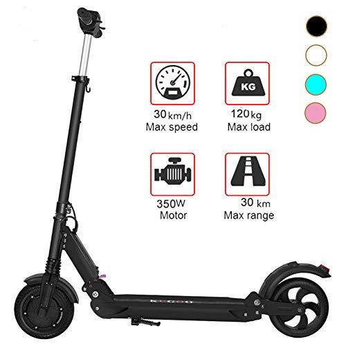 FUTERLY Elektro Scooter, 350W Elektroroller mit Zwei Rädern 30 Km Reichweite, Faltbarer und geringes Gewicht, Seeped 30km/h, Li-Ion Akku, 8-Zoll-Reifen, City E-Roller Kinder und Erwachsene E-Scooter
