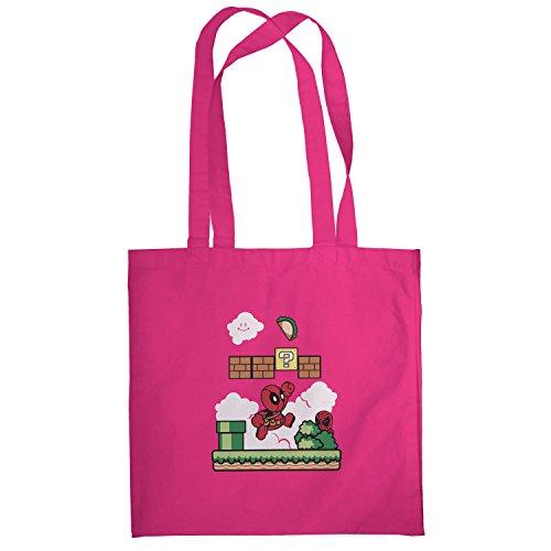 Texlab–Super Pool World–sacchetto di stoffa Pink