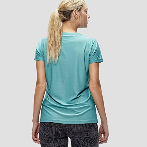 Asics Essentials Graphic Women's Course à Pied T-Shirt - AW16 Turquoise