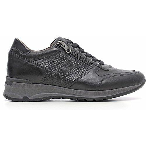 Sneaker Donna in Pelle Nera A616053D-100 - Nero Giardini , 38