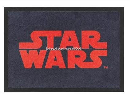 Felpudos Star Wars (50 x 70 cm), diseño del logo de Star Wars