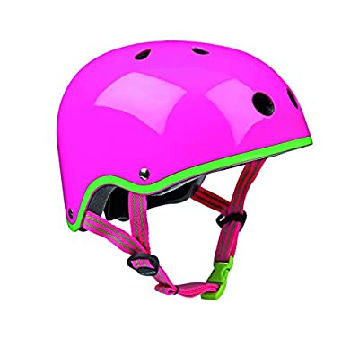Micro Scooters Safety Helmet Neon Pink Medium For Boys And Girls Cycling Bike from Micro Helmets